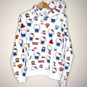 Levi's x Hello Kitty Unbasic Hoodie Size S